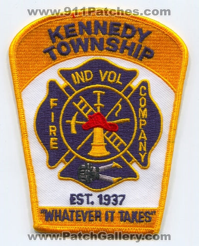 Kennedy Township Independent Volunteer Fire Company Patch Pennsylvania PA