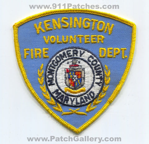 Kensington Volunteer Fire Department Montgomery County Patch Maryland MD