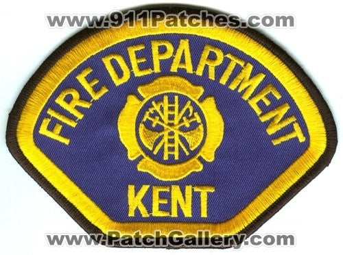 Kent Fire Department Patch Washington WA