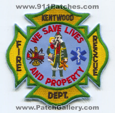 Kentwood Fire Rescue Department Patch Unknown State