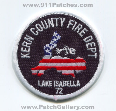 Kern County Fire Department Station 72 Lake Isabella Patch California CA