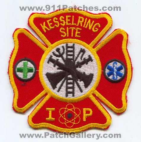 Kesselring Site Indian Point Fire Department Naval Nuclear Laboratory Patch New York NY