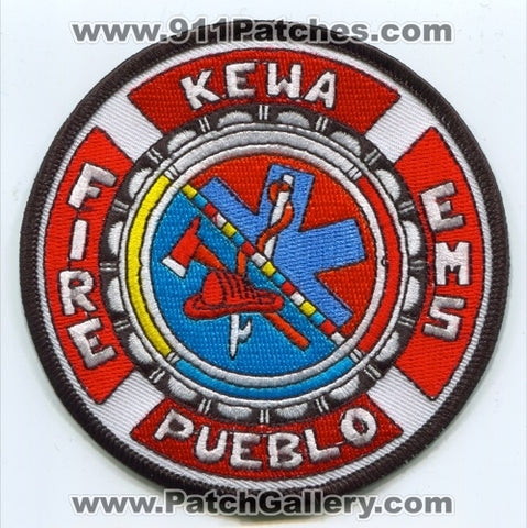 Kewa Pueblo Fire Department Patch New Mexico NM