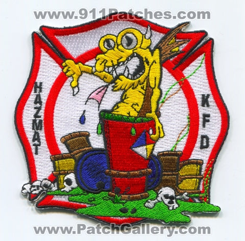 Kissimmee Fire Department HazMat Patch Florida FL