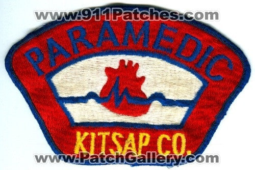 Kitsap County Paramedic EMS Patch Washington WA