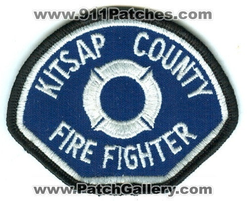 Kitsap County Fire District FireFighter Patch Washington WA