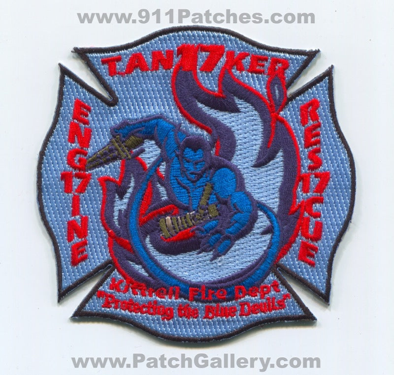 Kittrell Fire Department Station 17 Patch Tennessee TN