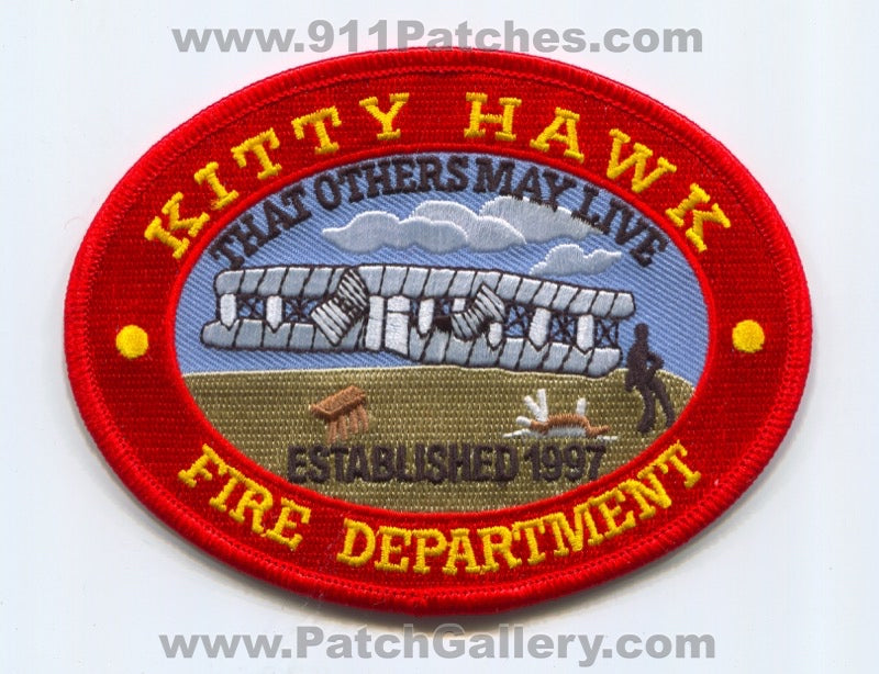 Kitty Hawk Fire Department Patch North Carolina NC