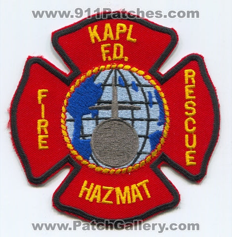Knolls Atomic Power Lab KAPL Fire Department Patch New York NY