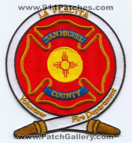 La Placita Volunteer Fire Department Patch New Mexico NM