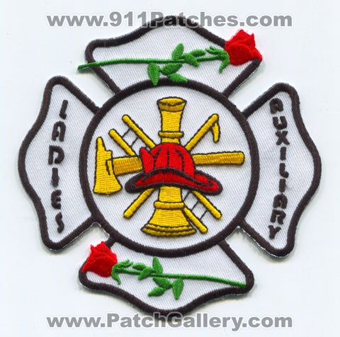Fire Department Ladies Auxiliary Patch No State Affiliation