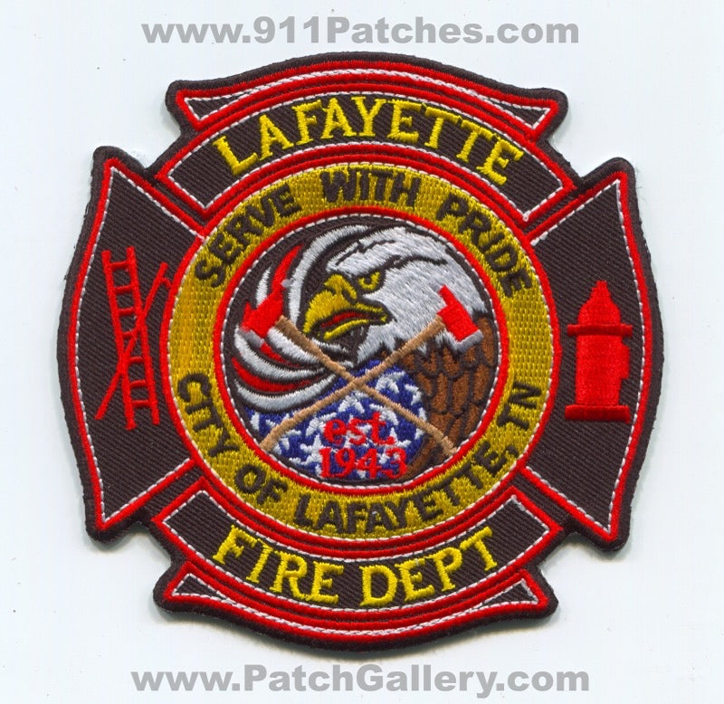 Lafayette Fire Department Patch Tennessee TN