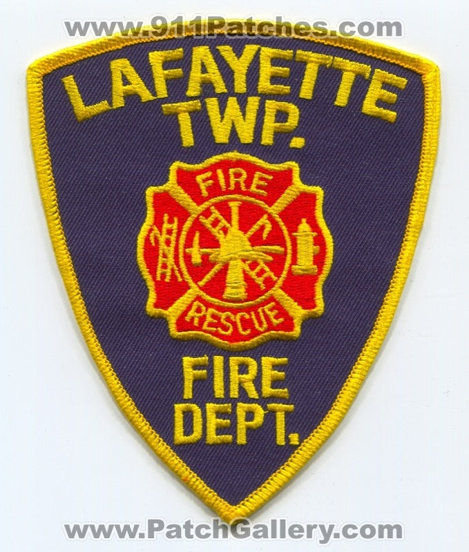 Lafayette Township Fire Rescue Department Patch Unknown State