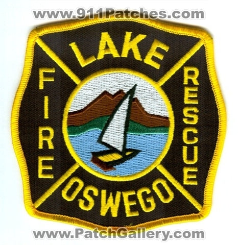 Lake Oswego Fire Department Patch Oregon OR