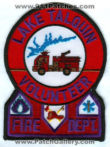 Lake Talquin Volunteer Fire Department Patch Florida FL
