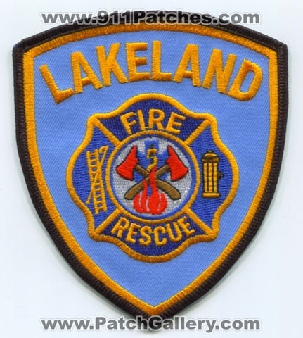 Lakeland Fire Rescue Department Patch Florida FL