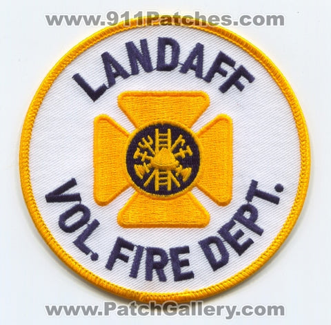 Landaff Volunteer Fire Department Patch New Hampshire NH