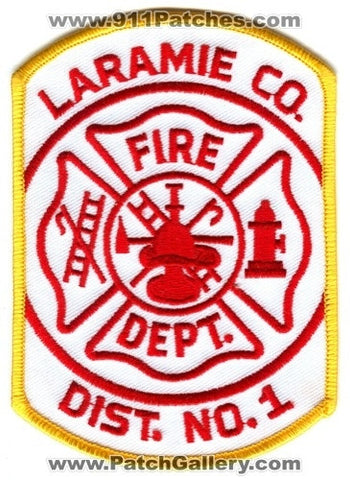 Laramie County Fire District Number 1 Patch Wyoming WY