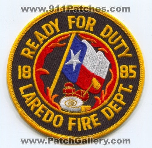 Laredo Fire Department Patch Texas TX
