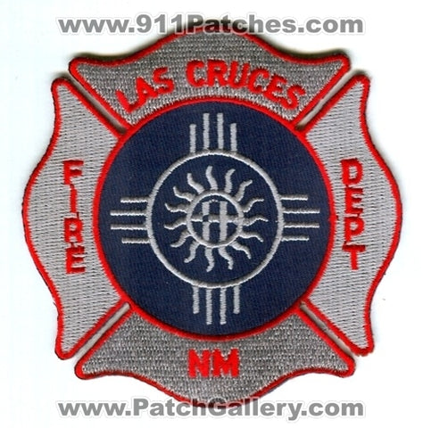 Las Cruces Fire Department Patch New Mexico NM