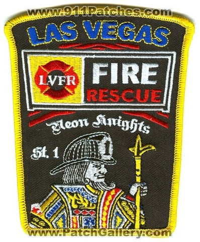 Las Vegas Fire Department Station 1 Patch Nevada NV