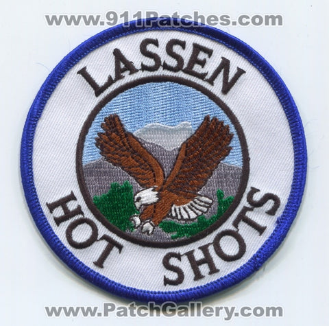 Lassen Hot Shots Forest Fire Wildfire Wildland Patch California CA