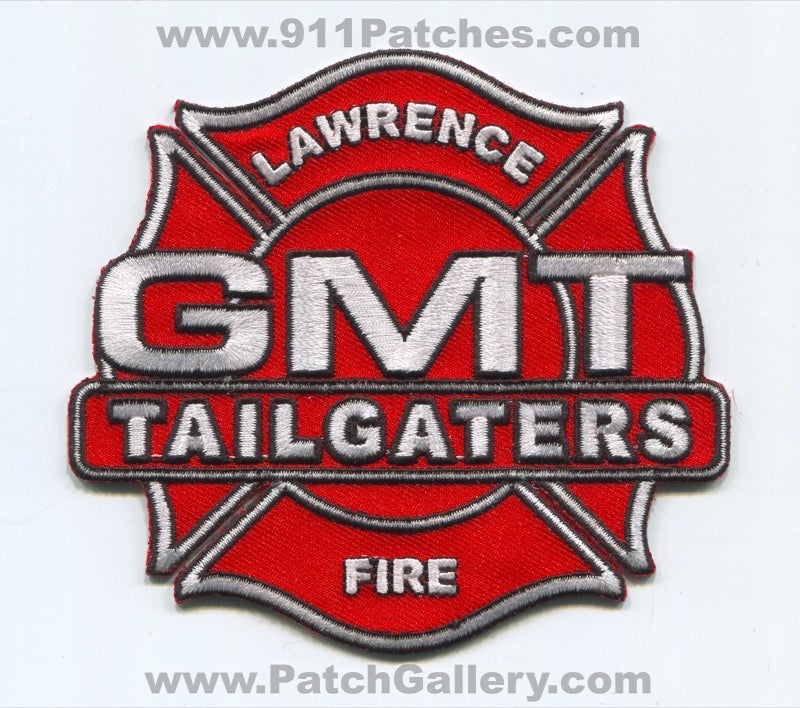 Lawrence Fire Department GMT Tailgaters Patch Massachusetts MA