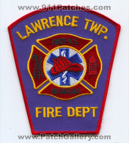 Lawrence Township Fire Department Indianapolis Patch Indiana IN