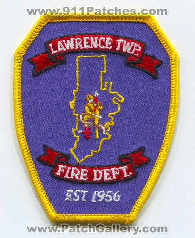 Lawrence Township Fire Department Patch Pennsylvania PA