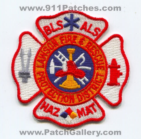 Lawson Fire and Rescue Protection District Patch Missouri MO