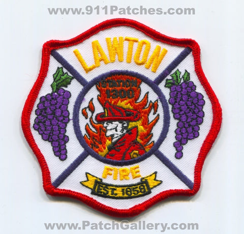 Lawton Fire Department Station 1300 Patch Michigan MI