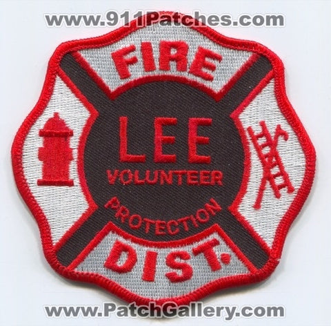 Lee Volunteer Fire Protection District Patch Unknown State