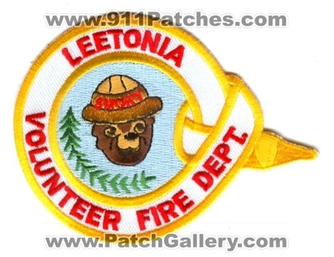 Leetonia Volunteer Fire Department Patch Ohio OH