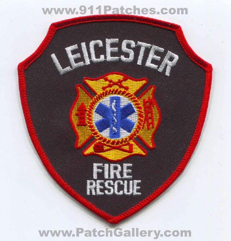 Leicester Fire Rescue Department Patch South Carolina SC
