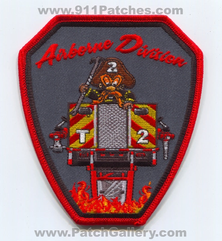 Lewiston Fire Department Truck 2 Patch Maine ME