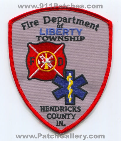 Liberty Township Fire Department Hendricks County Patch Indiana IN