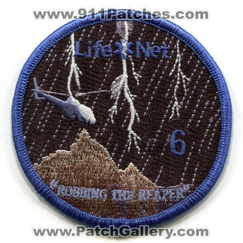LifeNet 6 Air Medical Helicopter EMS Patch Arizona AZ