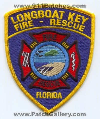 Longboat Key Fire Rescue Department Patch Florida FL