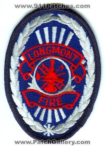 Longmont Fire Department Patch Colorado CO