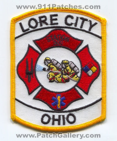 Lore City Fire Department Station 300 Patch Ohio OH