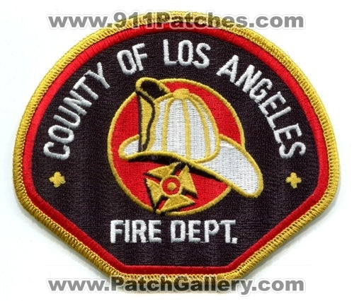 Los Angeles County Fire Department Patch California CA