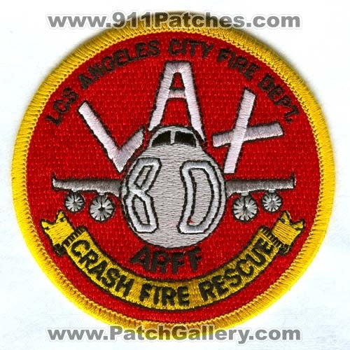 Los Angeles City Fire Department Station 80 Patch California CA