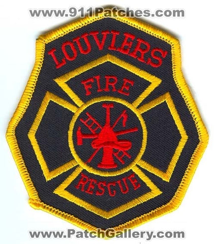 Louviers Fire Rescue Department Patch Colorado CO