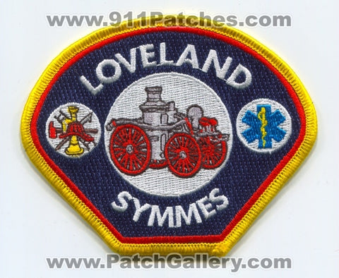 Loveland Symmes Fire Department Patch Ohio OH