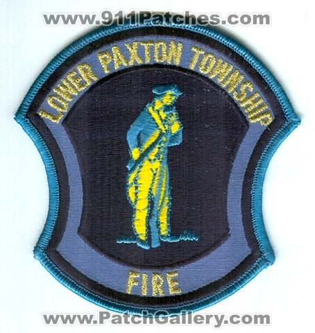 Lower Paxton Township Fire Department Patch Pennsylvania PA