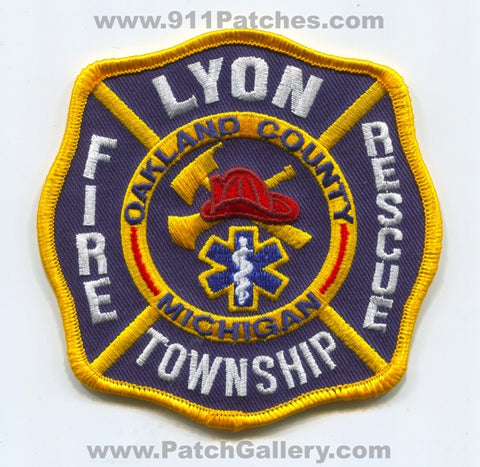 Lyon Township Fire Rescue Department Oakland County Patch Michigan MI