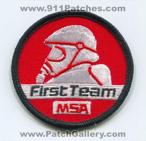 Mine Safety Appliances MSA First Team Fire Department Patch Pennsylvania PA
