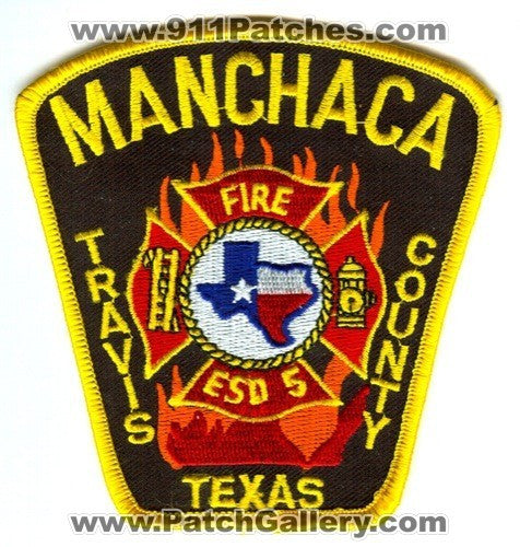 Manchaca Fire Department Emergency Services District 5 Patch Texas TX
