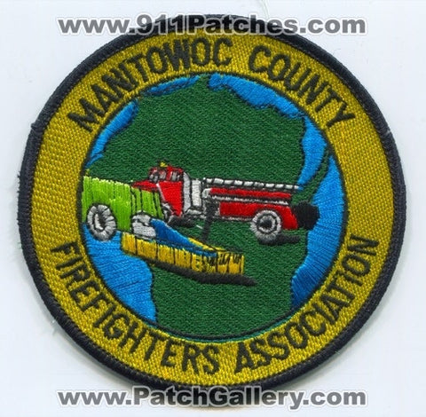 Manitowoc County Firefighters Association Patch Wisconsin WI