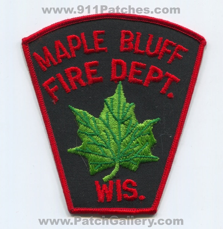 Maple Bluff Fire Department Patch Wisconsin WI